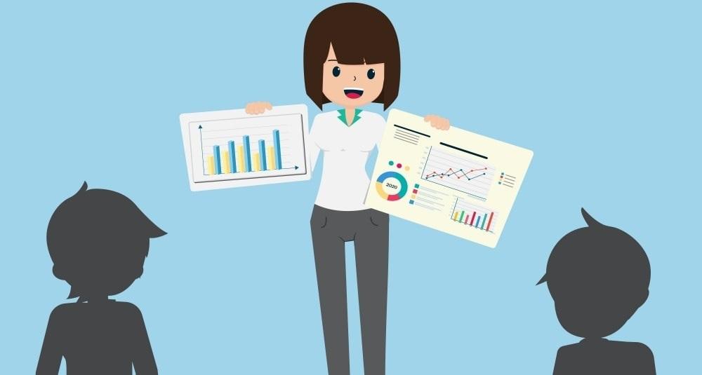 公認会計士の女性