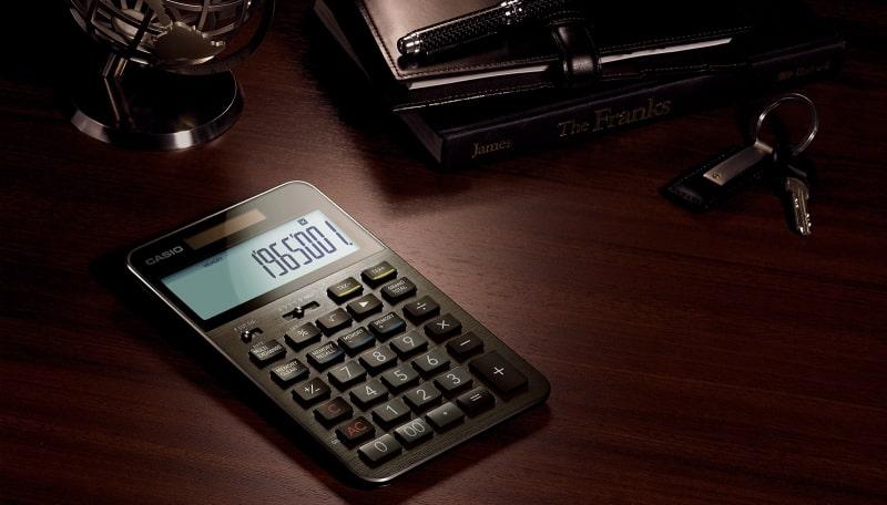おしゃれな電卓