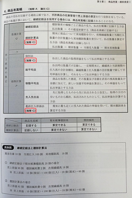 東京CPAテキスト_財務(計算)②